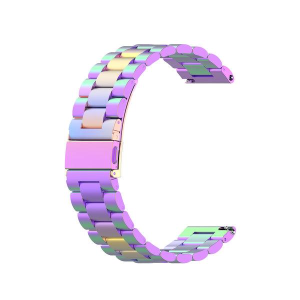123Watches Bracelet trois maillons en acier perles Samsung Galaxy Watch - colore