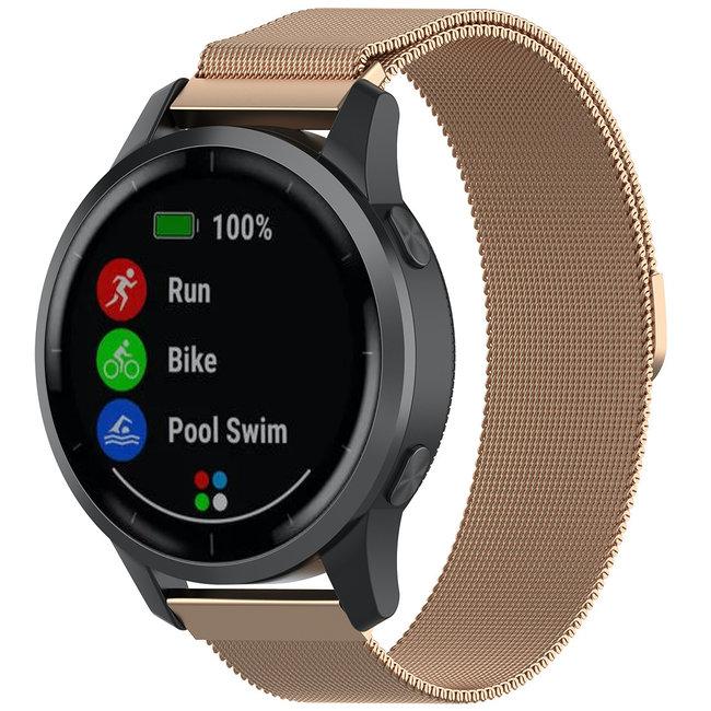 Merk 123watches Samsung Galaxy Watch milanese band - rose goud