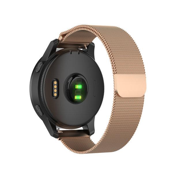 123Watches Samsung Galaxy Watch milanese band - rose goud