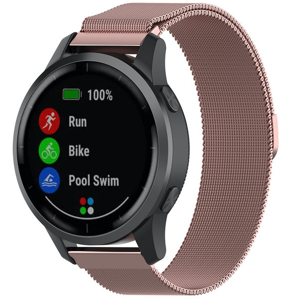 123Watches Bracelet milanais Samsung Galaxy Watch - rose rouge