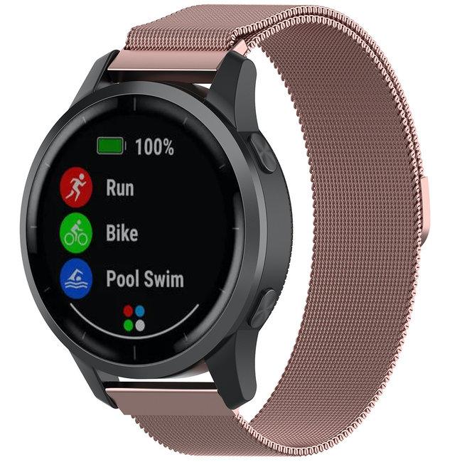 Merk 123watches Samsung Galaxy Watch milanese band - rose rood