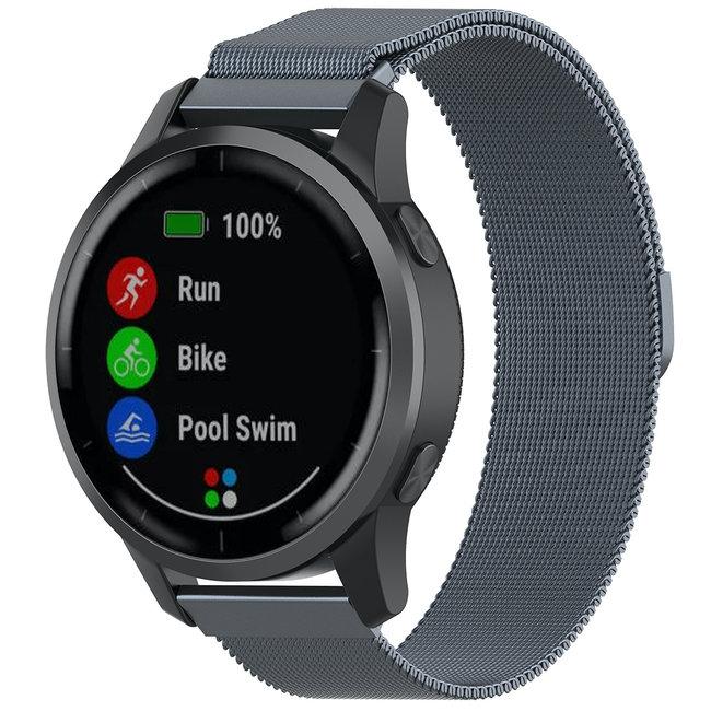 Merk 123watches Samsung Galaxy Watch milanese band - ruimte grijs