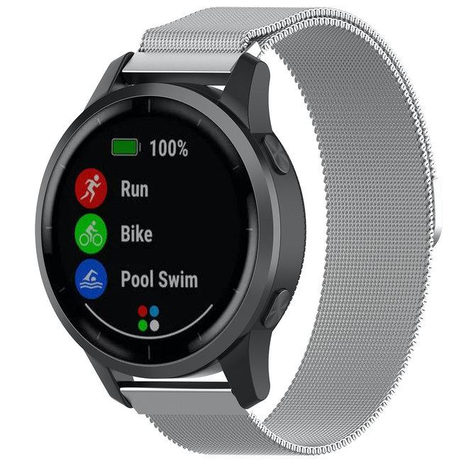 Merk 123watches Samsung Galaxy Watch milanese band - zilver