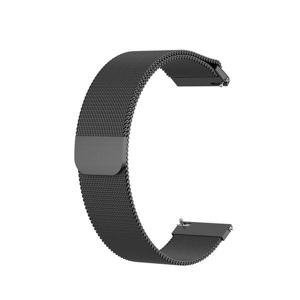 123Watches Samsung Galaxy Watch milanese band - zwart