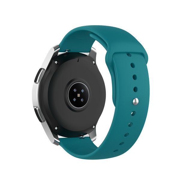 123Watches Samsung Galaxy Watch silicone band - white - Copy