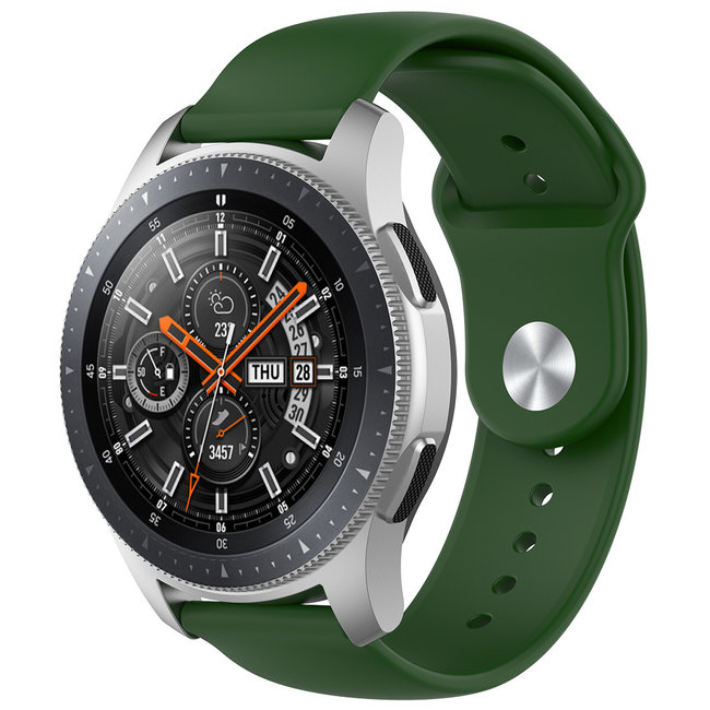 123Watches Samsung Galaxy Watch silicone band - army green