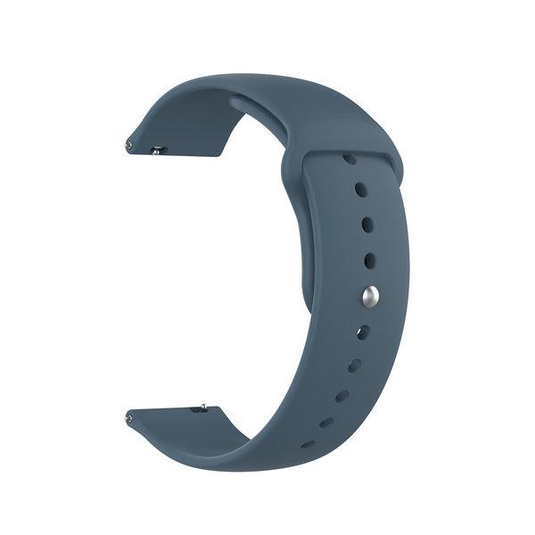 123Watches Bracelet en silicone Samsung Galaxy Watch - ardoise