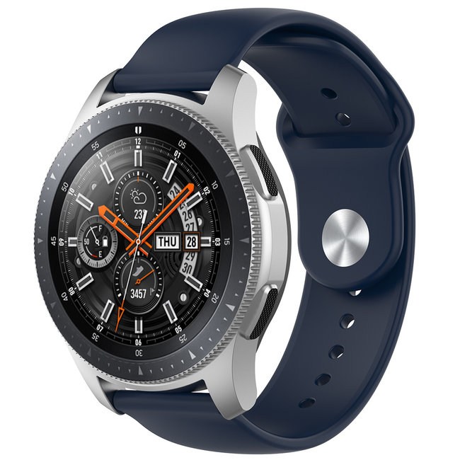 Merk 123watches Samsung Galaxy Watch silicone band - marineblauw