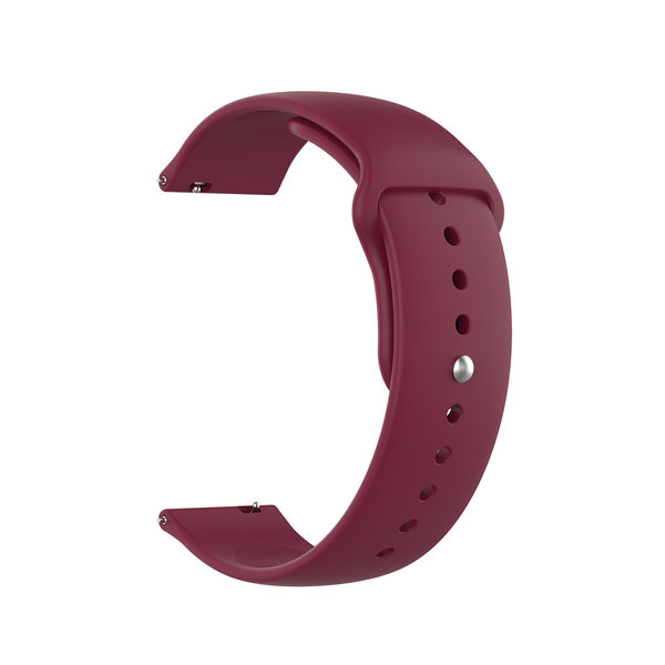 123Watches Samsung Galaxy Watch silicone band - wijn rood