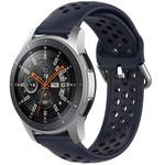 123Watches Bracelet en boucle en silicone Samsung Galaxy Watch - bleu fonce