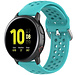 123Watches Samsung Galaxy Watch silicone dubbel gesp band - groenblauw