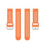 123Watches Samsung Galaxy Watch Silicone double buckle strap - orange