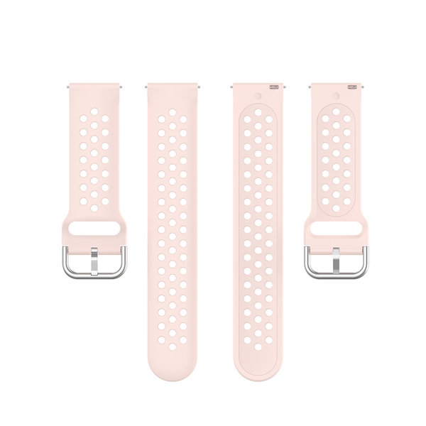 123Watches Bracelet en boucle en silicone Samsung Galaxy Watch - rose