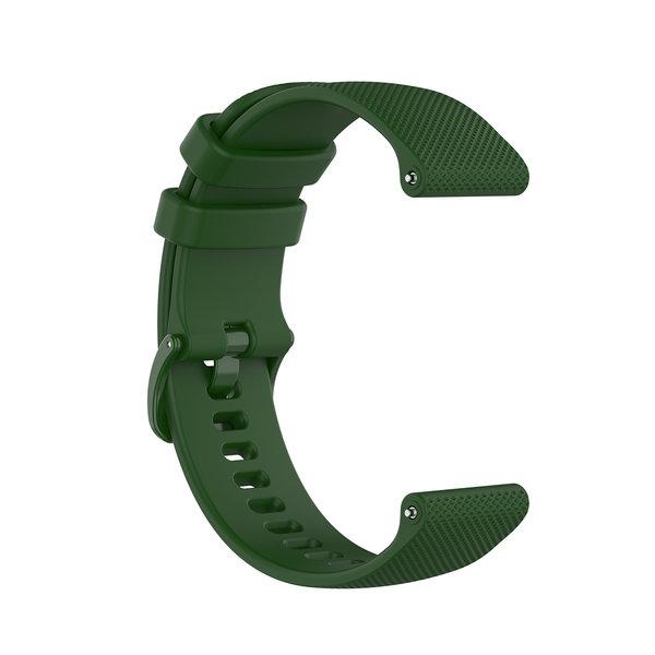 123Watches Samsung Galaxy Watch silicone belt buckle band - green