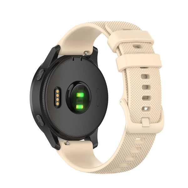 123Watches Samsung Galaxy Watch silicone belt buckle band - khaki