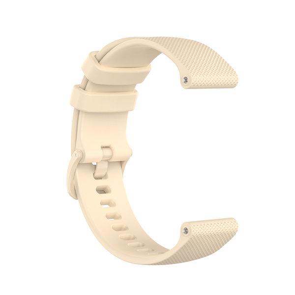 123Watches Samsung Galaxy Watch silicone gesp band - khaki