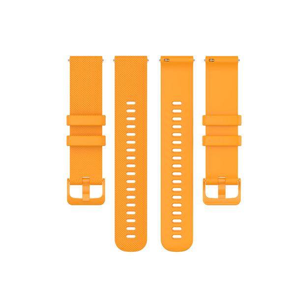 123Watches Samsung Galaxy Watch silicone gesp band - oranje