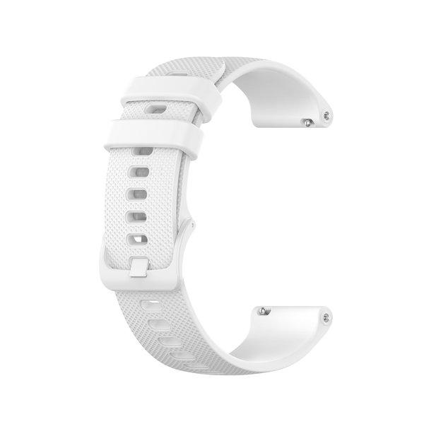 123Watches Samsung Galaxy Watch silicone gesp band - wit