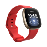 123Watches Fitbit Versa 3 / Sense sport band - rood