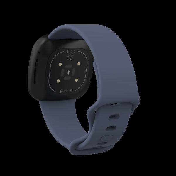 123Watches Fitbit Versa 3 / Sense sport sangle - rock cyan