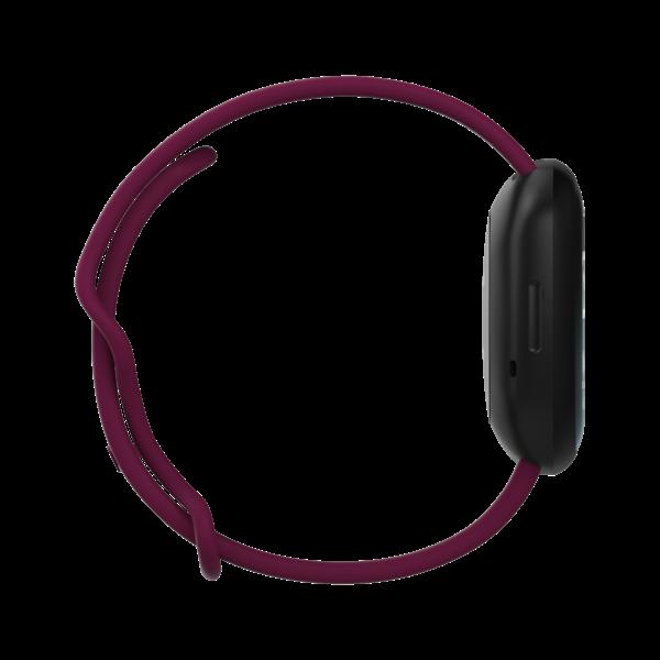 123Watches Fitbit Versa 3 / Sense sport band - wine red