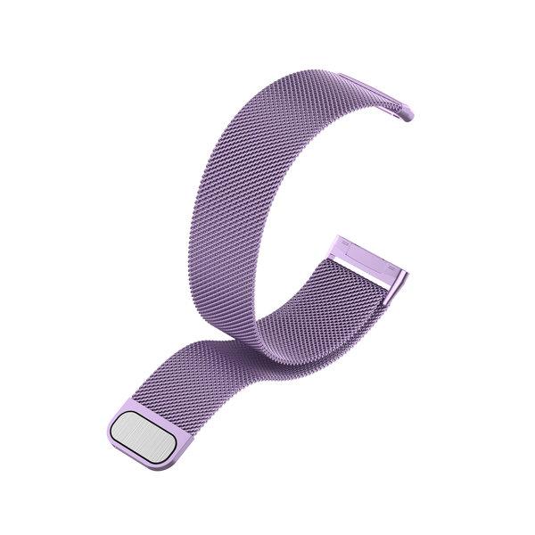 123Watches Fitbit Versa 3 / Sense milanese band - lavande