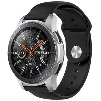 Merk 123watches Huawei watch GT silicone band - zwart