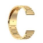 123Watches Fitbit Versa 3 / Sense kralen stalen schakel band - goud