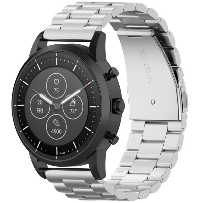 123Watches Huawei watch GT three steel band beads band - silver