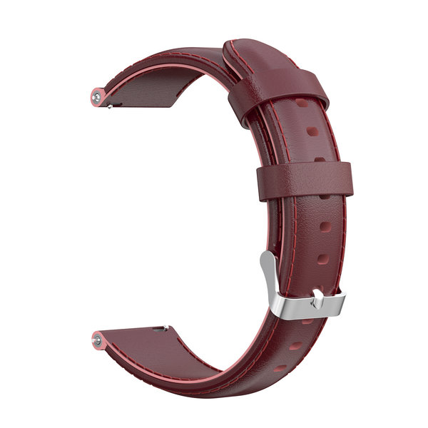 123Watches Huawei watch GT leather band - wine red