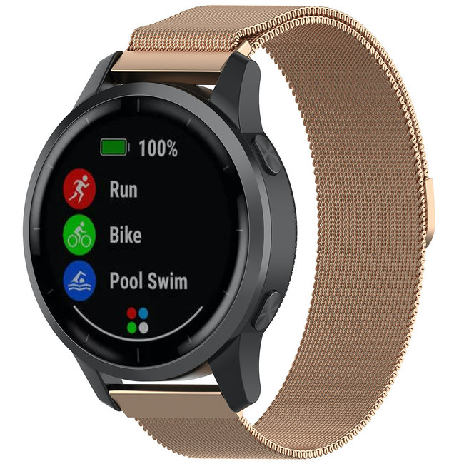 123Watches Huawei watch GT milanese band - rose gold