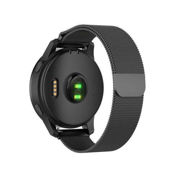 123Watches Bracelet milanais Huawei watch GT / fit - Noir