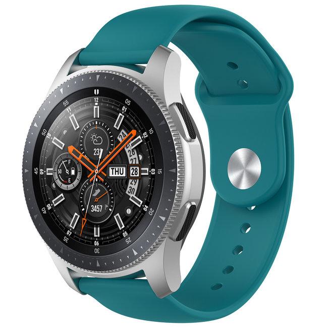 Merk 123watches Huawei watch GT silicone band - groen