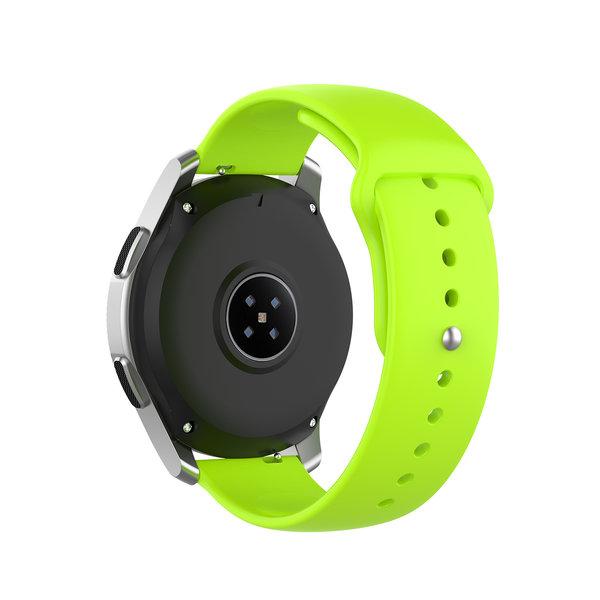 123Watches Bracelet en silicone Huawei watch GT / fit - citron vert