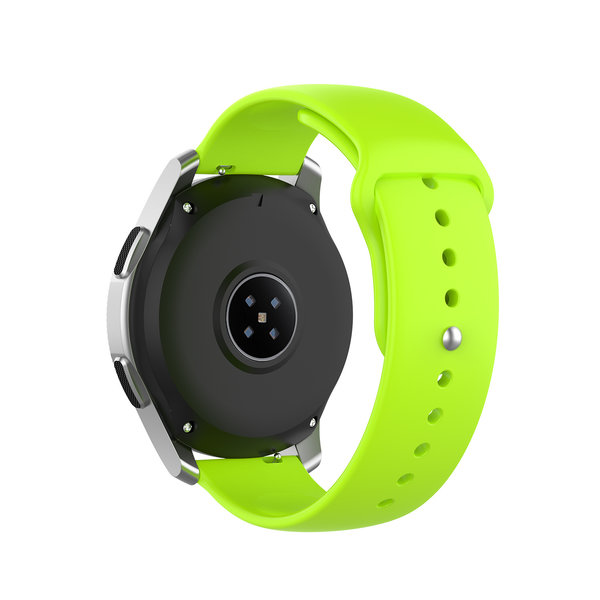 123Watches Huawei watch GT silicone band - limoen