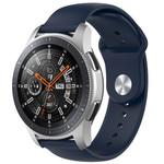 123Watches Bracelet en silicone Huawei watch GT / fit - bleu marin