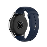 123Watches Huawei watch GT silicone band - marineblauw