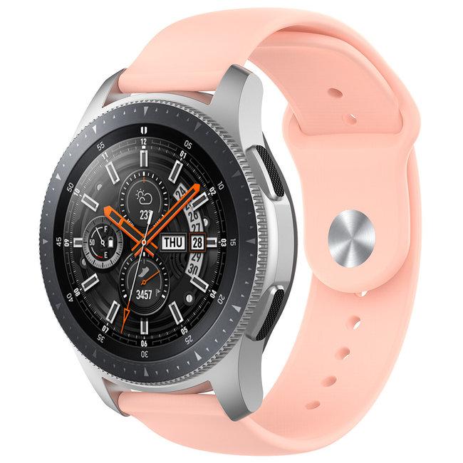 Merk 123watches Huawei watch GT silicone band - roze