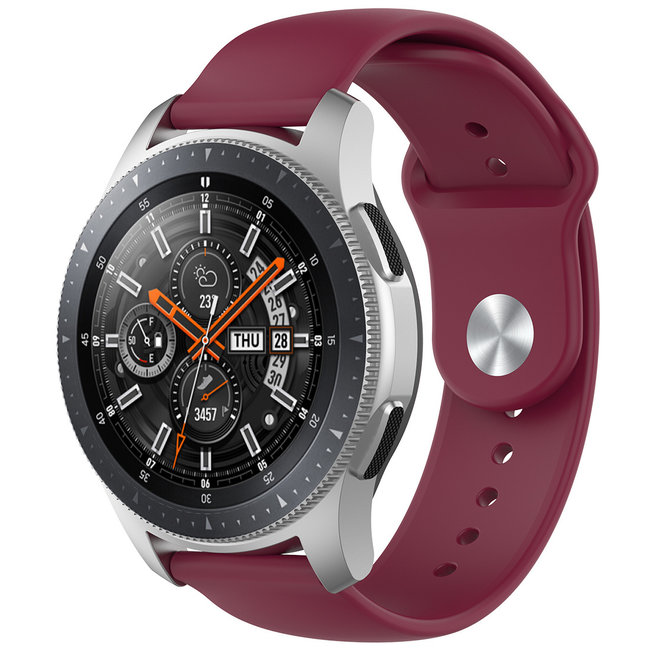 Huawei watch GT silicone band - wijn rood