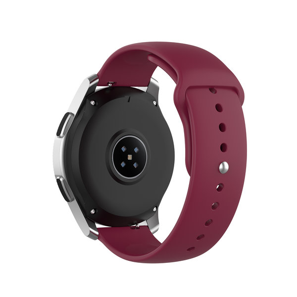 123Watches Huawei watch GT silicone band - wijn rood