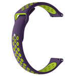 123Watches Huawei watch GT Silicone double strap - purple green