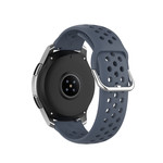 123Watches Huawei watch GT silicone dubbel gesp band - grijs