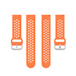 123Watches Bracelet à boucle en silicone Huawei watch GT / fit - orange