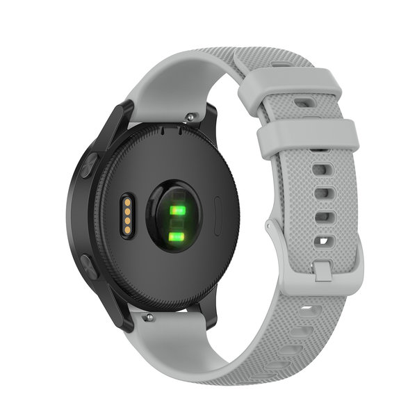 123Watches Huawei watch GT silicone belt buckle band - gray