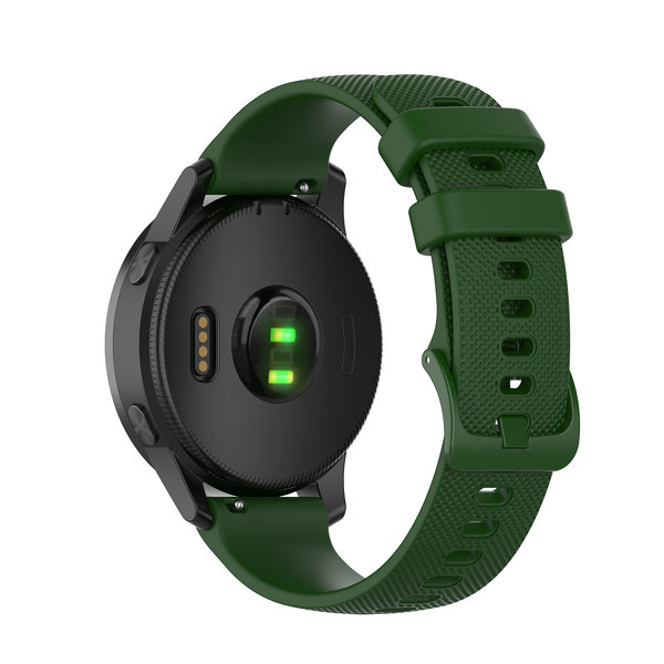 123Watches Huawei watch GT / fit silicone gesp band - groen