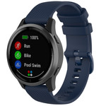 123Watches Bracelet à boucle en silicone Huawei watch GT / fit - bleu marin