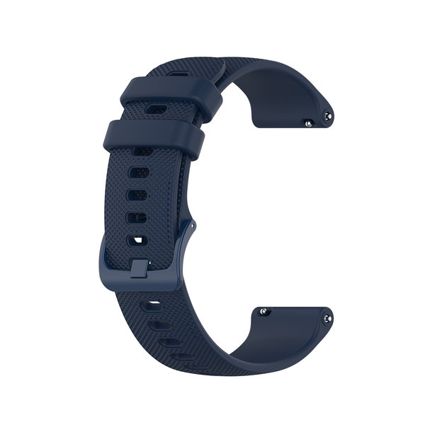 123Watches Huawei watch GT silicone belt buckle band - navy blue
