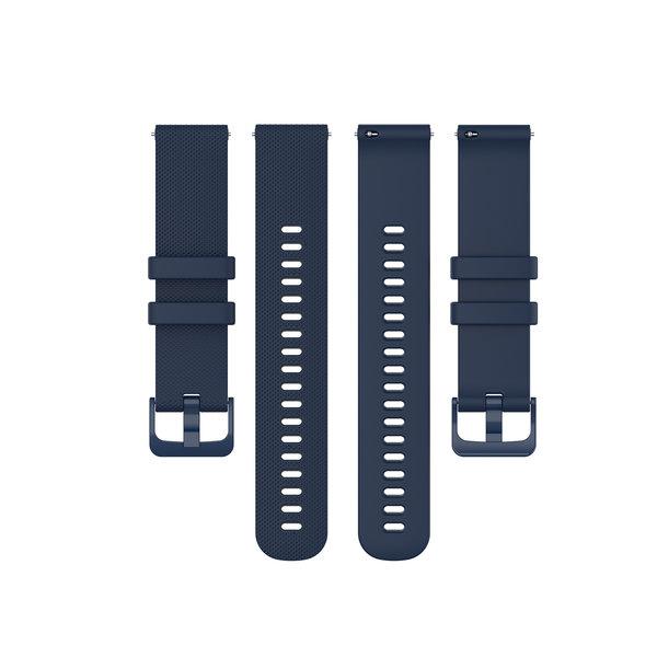 123Watches Huawei watch GT silicone gesp band - marineblauw
