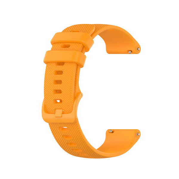 123Watches Huawei watch GT / fit silicone gesp band - oranje