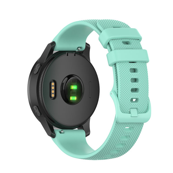123Watches Huawei watch GT silicone gesp band - tahoe blauw